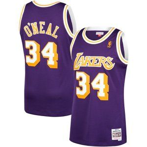 Los Angeles Lakers Shaquille O'Neal Purple Jersey